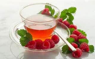 Чай из листьев малины польза и вред, исследования полезных свойств