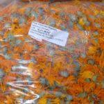 Пакетированные сухие цветы календулы