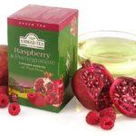 Зеленый чай Ahmad с гранатом и малиной