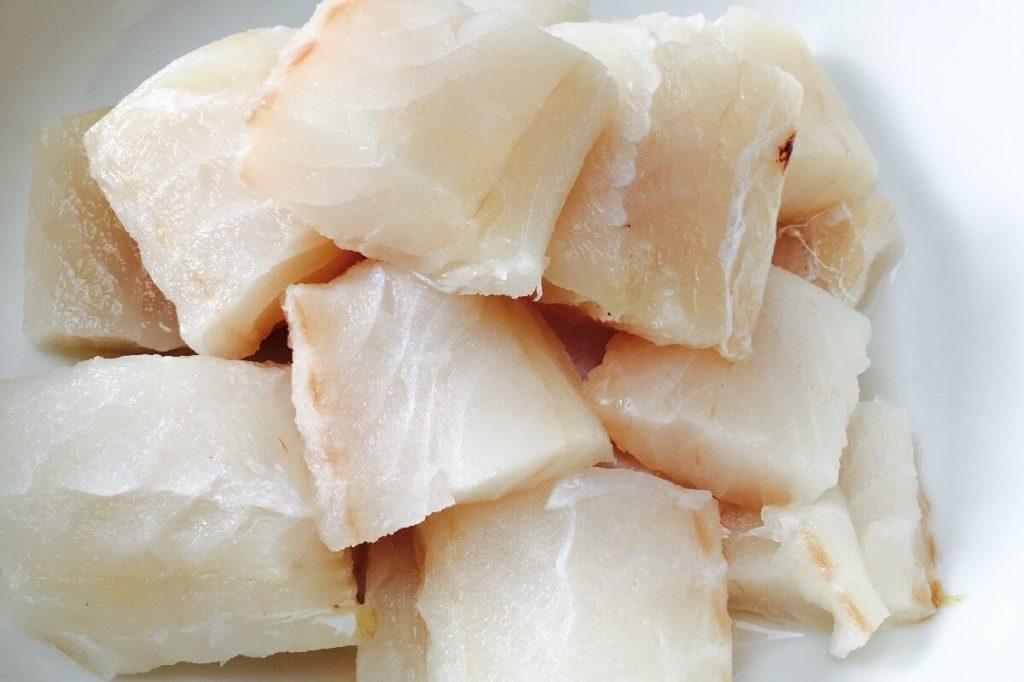 Кусочки филе рыбы конгрио