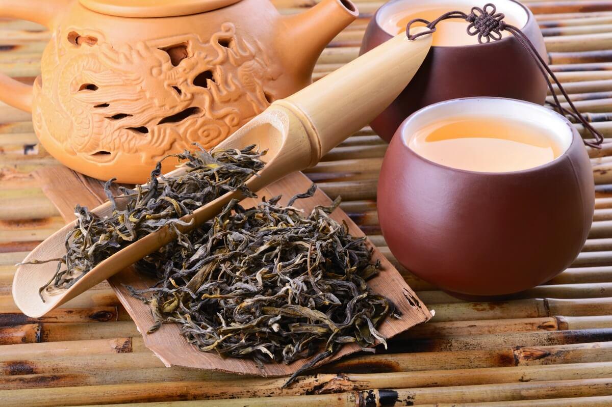 чай оолонг польза