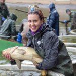 Королева карпов на рыболовном фестивале в Нижней Австрии