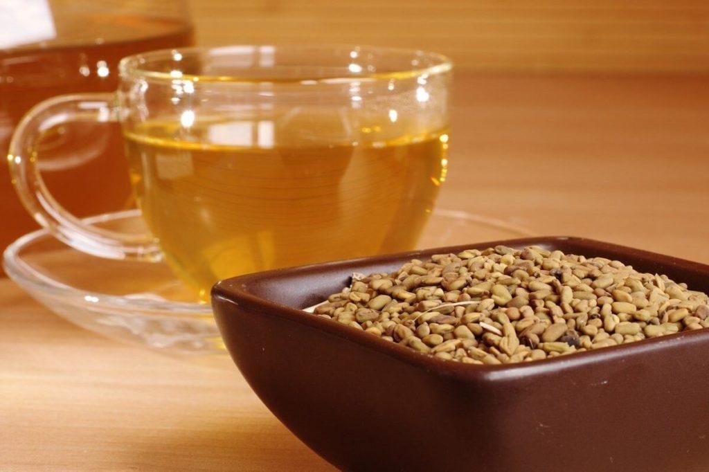 Семена и чай из хельбы
