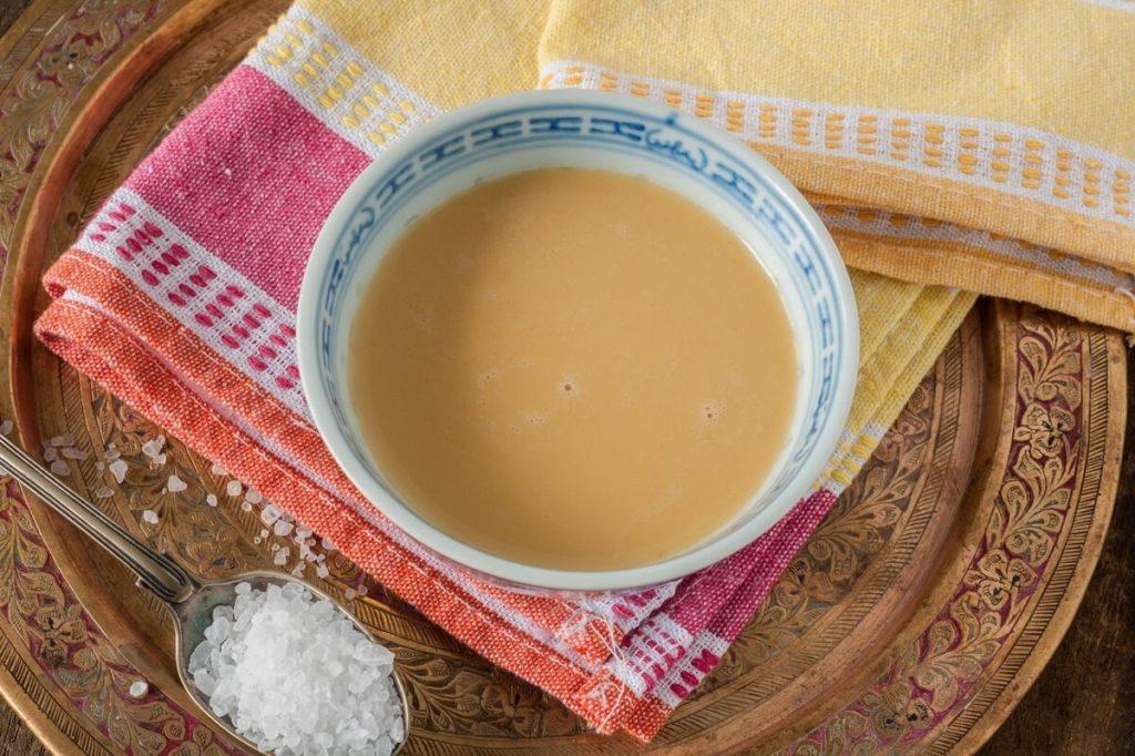 Калмыцкий чай с солью