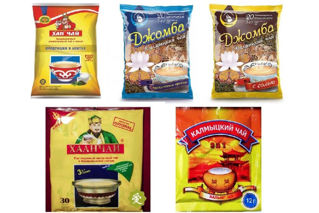 Калмыцкий чай джомба в пакетиках