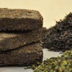 Прессованный и рассыпной черный и зеленый чай