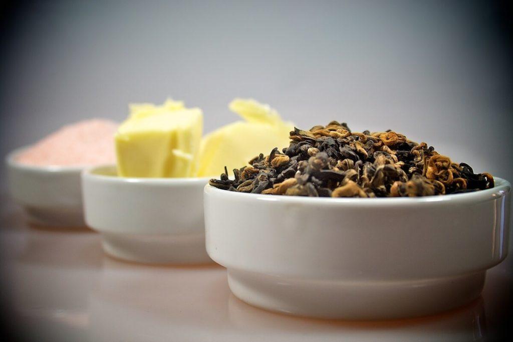 Ингредиенты для калмыцкого чая