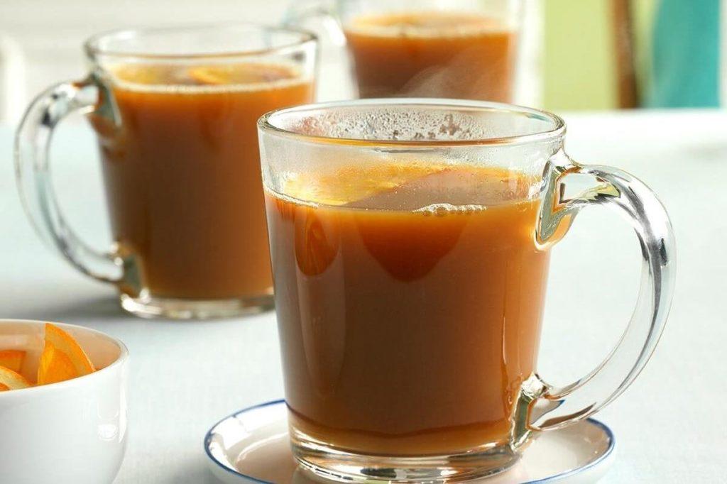 Чай из апельсина