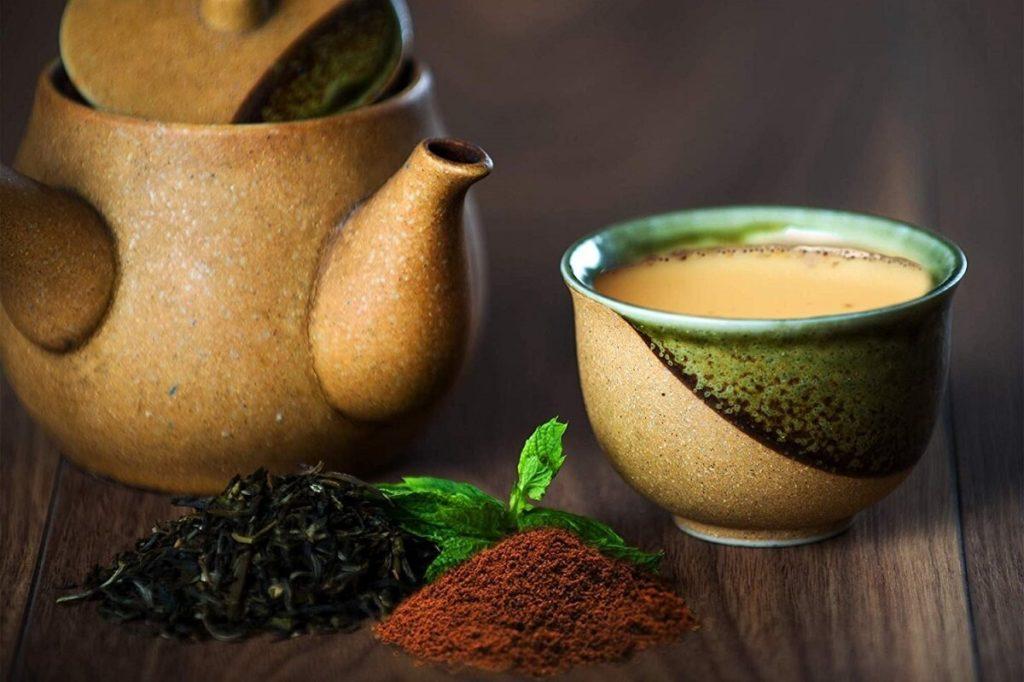 Зеленый чай масала