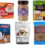 Разные виды чая масала в продаже