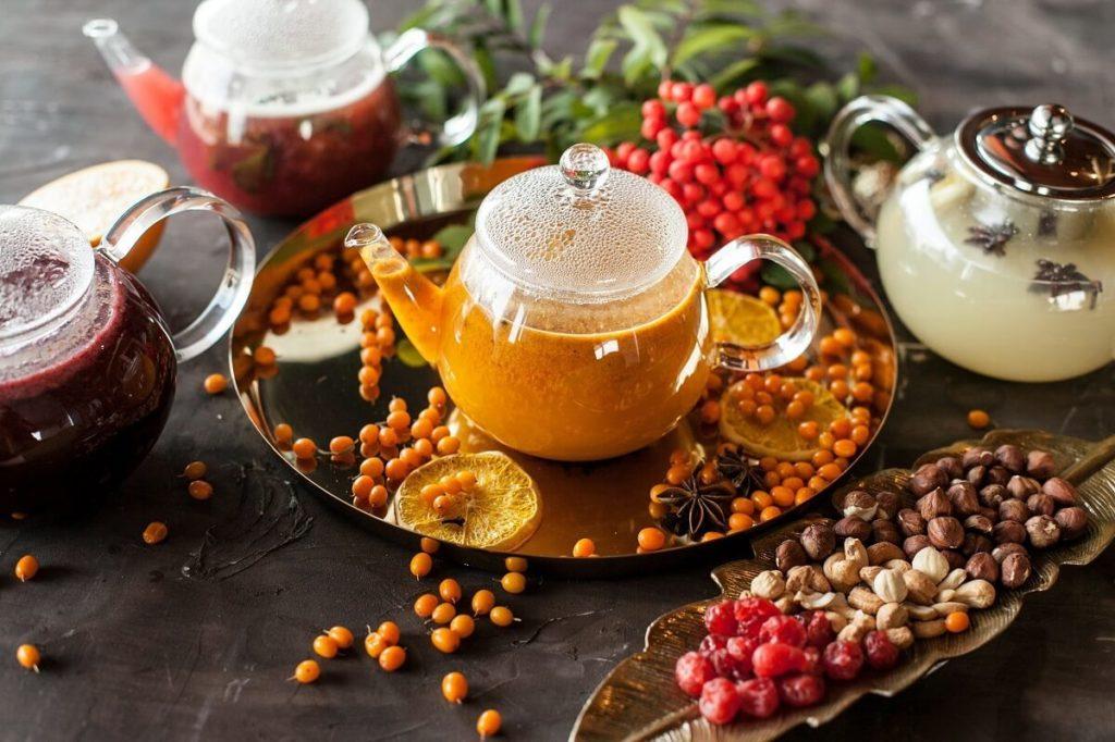 Облепиховый чай с добавками