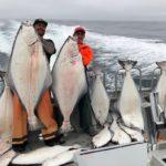Улов палтуса на Аляске