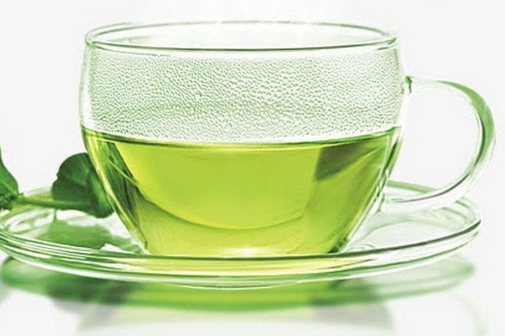 Чашка мятного чая
