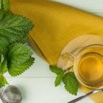 Мятный чай сервировка
