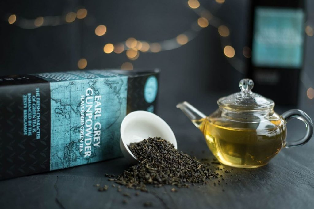 Зеленый чай Earl Grey с бергамотом