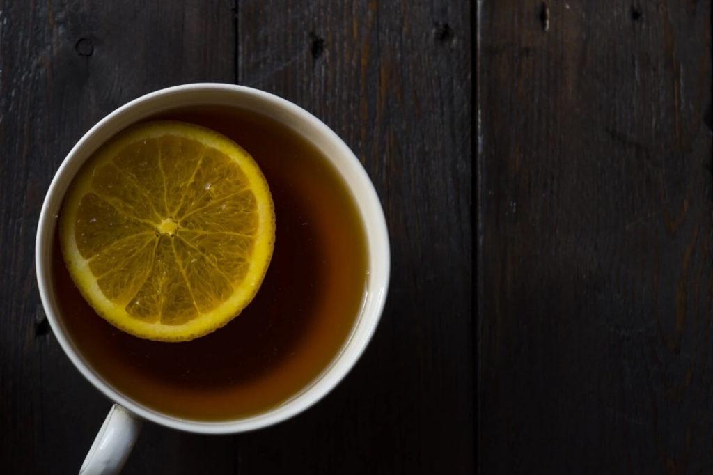 Чай с бергамотом и лимоном