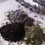 лаванда и черный чай
