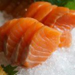 Мясо сёмги для сашими