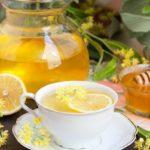 чай с липой и медом
