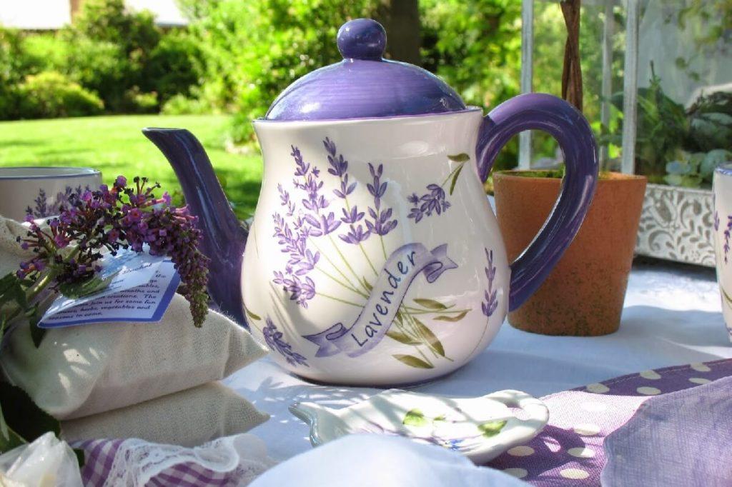 чай из корня лаванды
