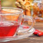чай с липой и шиповником