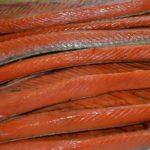 Копченые брюшки лосося