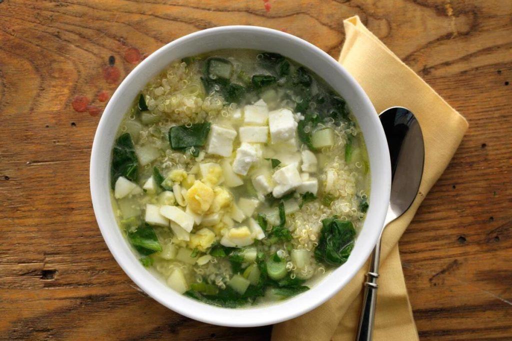 суп с лебедой
