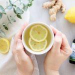 чай с эвкалиптом, лимоном и имбирем