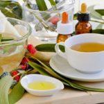 масло и чай из листьев эвкалипта