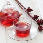 красный чай каркаде из плодов розеллы