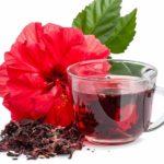 чай каркаде из сухих лепестков суданской розы