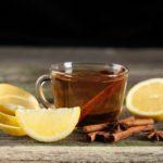 чай с корицей, бадьяном (анисом) и лимоном