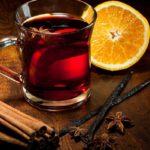 Чай с корицей, апельсином и специями