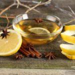 Чай с лимоном, корицей и анисом (бадьяном)