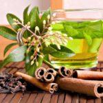 Зеленый чай с корицей и гвоздикой