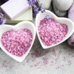 соль и мыло с лавандой