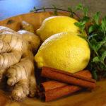 мята, лимон, корица, имбирь