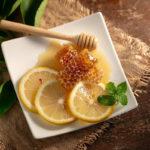 мята с медом и лимоном