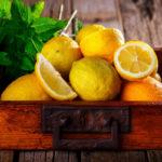 мята с лимонами