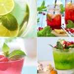 мята в охладительных напитках