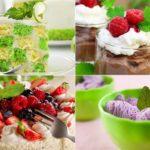 мята в десертах