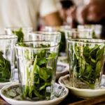 марокканский мятный чай