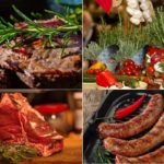 розмарин с мясом и овощами