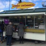 жареная салака в Швеции