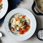 суп с салакой