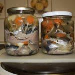 домашние консервы из салаки