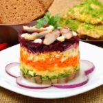 салат шуба с сельдью