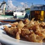 кальмары к пиву, закуска