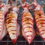 кальмары на мангале