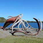 памятник кальмару